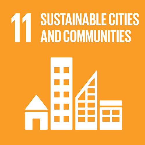 11. Make cities inclusive, safe, resilient and sustainable